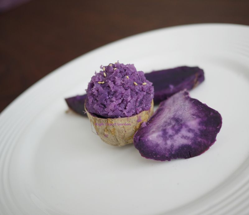 Okinawan Sweet Potatoes Baked 4